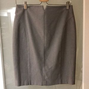 Express Grey Skirt